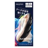 AKAISHI(アカイシ) アーチフィッター141 アーチクッションサンダル S ブラック 22~22.5cm