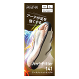 AKAISHI(アカイシ) アーチフィッター141 アーチクッションサンダル L アイボリー 24~24.5㎝