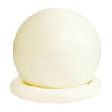 La-VIE(ラヴィ) リング付きジムボール 姿勢よしこ ホワイト│ダイエット・健康グッズ エクササイズ用品