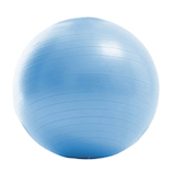 La.VIE ノンバーストジムボール 55cm ライトブルー