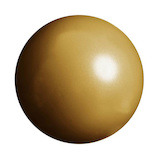 La‐VIE(ラヴィ) トレーニングボール 25cm ゴールド│ダイエット・健康グッズ エクササイズ用品
