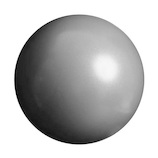 La‐VIE(ラヴィ) トレーニングボール 25cm シルバー│ダイエット・健康グッズ エクササイズ用品