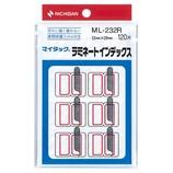 ニチバン インデックスラベル ML-232R
