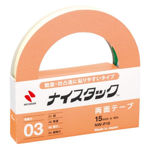 ニチバン ナイスタック 両面テープ スポンジタイプ NW-P15 15mm×4m