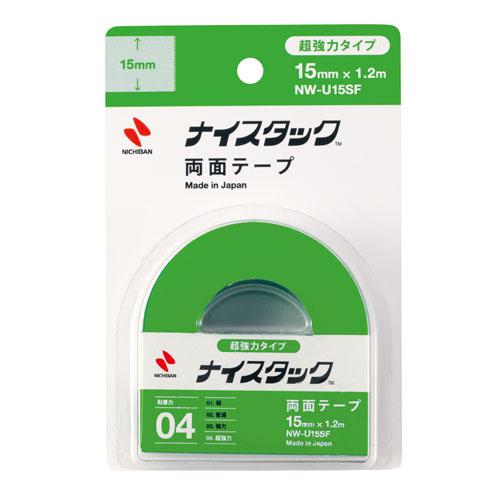 ニチバン ナイスタック 超強力両面テープ 15mm×1.2m NW-U15SF
