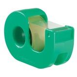 ニチバン セロテープ 小巻 カッターつき CT−18DRG グリーン