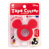 ニチバン セロテープ® テープカッター CTD−15RD ミッキーマウス│ガムテープ・粘着テープ セロテープ