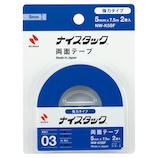 ニチバン ナイスタック 強力タイプ NW−K5SF 小巻2巻│ガムテープ・粘着テープ 両面テープ