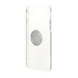 【iPhone6s/7/8】ラスタバナナ ハード トライタン リング付メタリックフレーム 4672IP747TR シルバー