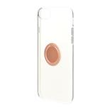 【iPhone6s/7/8】ラスタバナナ ハード トライタン リング付メタリックフレーム 4673IP747TR ピンクゴールド