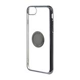 【iPhone6s/7/8】ラスタバナナ ハード トライタン リング付メタリックフレーム 4674IP747TR BK×SG