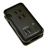 ラスタバナナ マルチタップ 充電用USBポート付 R3AC2A1C30W01BK ブラック