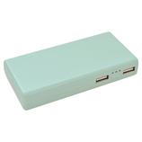ラスタバナナ モバイルバッテリー 5.000mAh AC付リチウム ライトブルー│携帯・スマホアクセサリー モバイルバッテリー・携帯充電器