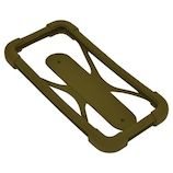 ラスタバナナ スマホケース 汎用シリコンバンパー Mサイズ カーキー│携帯・スマホケース スマホケース