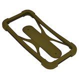 ラスタバナナ スマホケース 汎用シリコンバンパー Lサイズ カーキー│携帯・スマホケース スマホケース