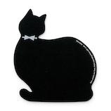 ハイタイド(HIGHTIDE) マウスパッド キャット ブラック
