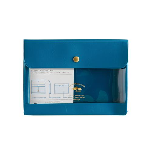 ハイタイド ジェネラルパーパスケース A6 ネーエ DF083-BL ブルー│ファイル ケースファイル