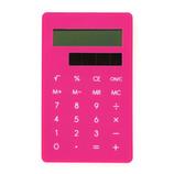 ハイタイド クリップ電卓 ピンク DP129