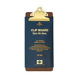 ハイタイド(HIGHTIDE) クリップボードO/S DP160 チェック ゴールド│ファイル クリップファイル・用箋挟
