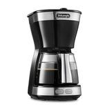 デロンギ ドリップコーヒーメーカー ICM12011J インテンスブラック│キッチン家電 コーヒーメーカー