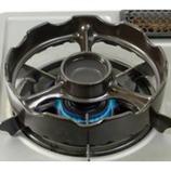 トーセラム 温度センサー付きガスコンロ用 焼き台 黒