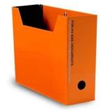 エトランジェ ディ コスタリカ A4ファイルボックス SLD2-51-05 オレンジ