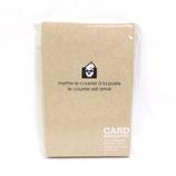 エトランジェ・ディ・コスタリカ カードサイズ封筒 ENYBC−K−01 クラフト 15枚入