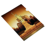 エトランジェ・ディ・コスタリカ クリアホルダー NEWYORK A4 NY−32−01 自由の女神│ファイル クリアホルダー