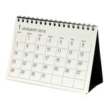 【2018年版・卓上】 エトランジェ・ディ・コスタリカ 卓上カレンダー A6横型 CLT−D−01 アイボリー