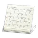 【2020年版・卓上】エトランジェ ディ コスタリカ 卓上カレンダー CLS‐FL‐05 アイボリー