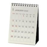 【2020年版・卓上】エトランジェ ディ コスタリカ 卓上カレンダー A6サイズ CLT‐B‐01 アイボリー