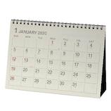【2020年版・卓上】エトランジェ ディ コスタリカ 卓上カレンダー A5サイズ CLT‐A‐01 アイボリー