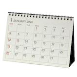 【2020年版・卓上】エトランジェ ディ コスタリカ 卓上カレンダー B6サイズ CLT‐G‐01 アイボリー