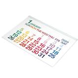 【2020年版・壁掛】エトランジェ ディ コスタリカ 壁掛カレンダー A2サイズ CLC‐A2‐01 ホワイト