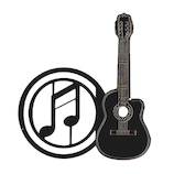 東洋精密工業 ミュージックマーカーギターH FM005