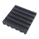 防振パッド 50×50×10mm│ゴム・ウレタン ゴム板