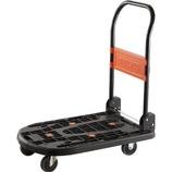 TRUSCO 軽量樹脂製台車「カルティオ」│工具箱・脚立 脚立・台車