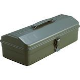 トラスコ(TRUSCO) 山型工具箱 Y-350-OD オリーブドラブ│工具箱・脚立 工具箱