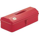 トラスコ(TRUSCO) 山型工具箱 Y-350-R レッド│工具箱・脚立 工具箱