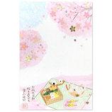 _アクティブコーポレーション 春柄情景ポストカード PPY−444h 桜/猫│カード・ポストカード ポストカード(イラスト)