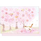 アクティブコーポレーション 春柄 四季の詩暦カード GT−228h│カード・ポストカード グリーティングカード
