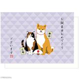 アクティブコーポレーション 柴田さんと三宅さんポップアップグリーティングカード B12−GT−232 誕生日