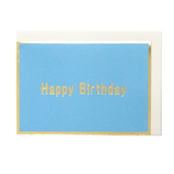 東急ハンズオリジナル グリーティングカード バースデーカード スカイブルー│カード・ポストカード バースデー・誕生日カード