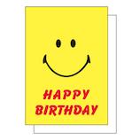 アクティブコーポレーション スマイリー グリーティングカード GK−196 バースデー│カード・ポストカード バースデー・誕生日カード