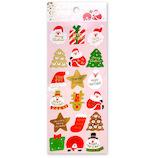 【クリスマス】 アクティブコーポレーション クリスマスペーパーシール CMS−564