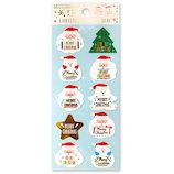 【クリスマス】 アクティブコーポレーション クリスマスペーパーシール CMS−578