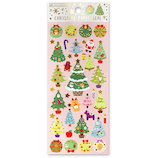 【クリスマス】 アクティブコーポレーション クリスマスペーパーシール CMS−580