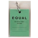 ライフ 単語カード A8 イコール P321b 緑