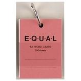 ライフ 単語カード A8 イコール P321d ピンク