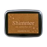 こどものかお シマーS  4100−191 メタリックゴールド